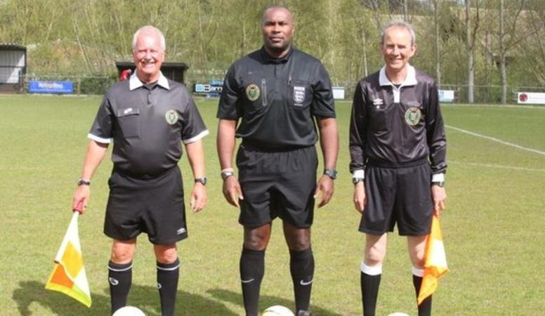"""""""I'm sure if you went to most BAME referees and asked them who is the highest-profile black referee working in the game, they wouldn't know.""""  Referee Joel Mannix has called for more officials from BAME backgrounds in football.   Full story: https://bbc.in/2CCG28T"""