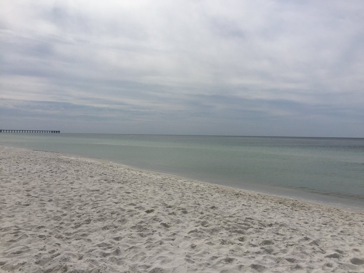 Even with the cloud cover, Panama City Beach remains picturesque!  #PanamaCityBeach #Weather #TuesdayThoughts<br>http://pic.twitter.com/kNM6LJCqJK