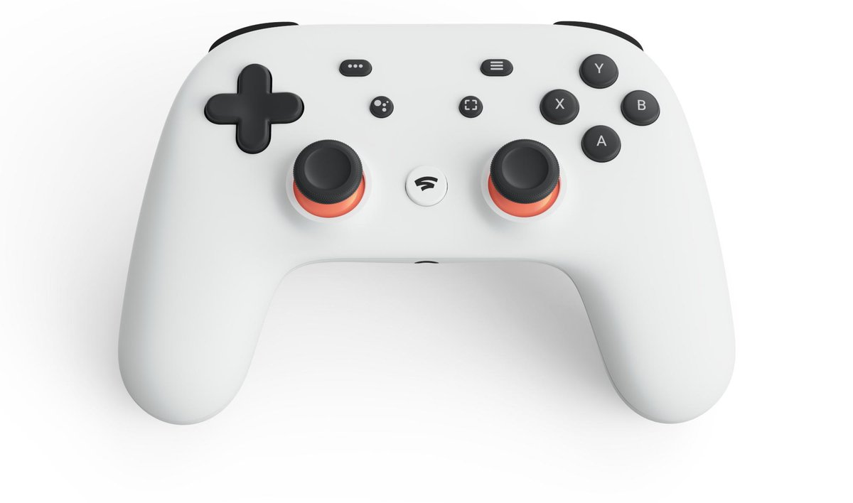 Google has announced Stadia - a game streaming platform with a dedicated controller.   And no, it's not THAT controller.  https://www.eurogamer.net/articles/2019-03-19-google-announces-stadia-its-bold-new-streaming-console… #GoogleGDC19