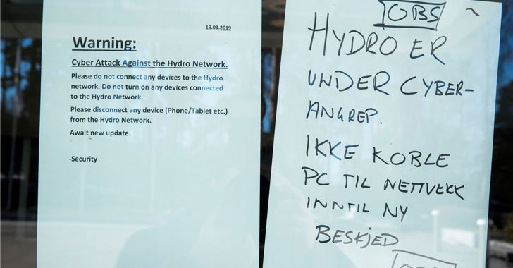 test Twitter Media - Ransomware [LockerGoga] Attack Forces Norsk Hydro—One of the World's Largest Aluminum Manufacturers—to Shutdown Operations at Several of Its Plants Across Europe and the U.S.  https://t.co/rsSPsCvCAB  By @unix_root  #cybersecurity #hacking #ransomware #infosec https://t.co/SE8uwQqsXV