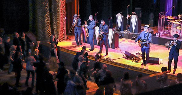 In Sparks, Big Bad Voodoo Daddy puts its spin on things - courtesy of @TahoeOnstage   Read full article here:  https://bit.ly/2FoIEZC  #25yearsofbbvd #bbvdtour2019 #swingmusic