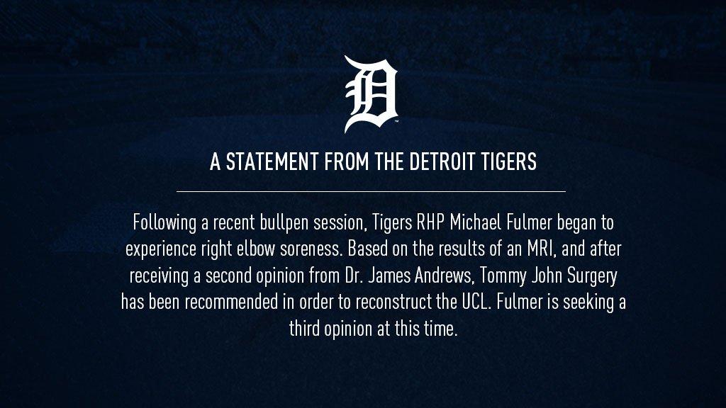 An update on Michael Fulmer:
