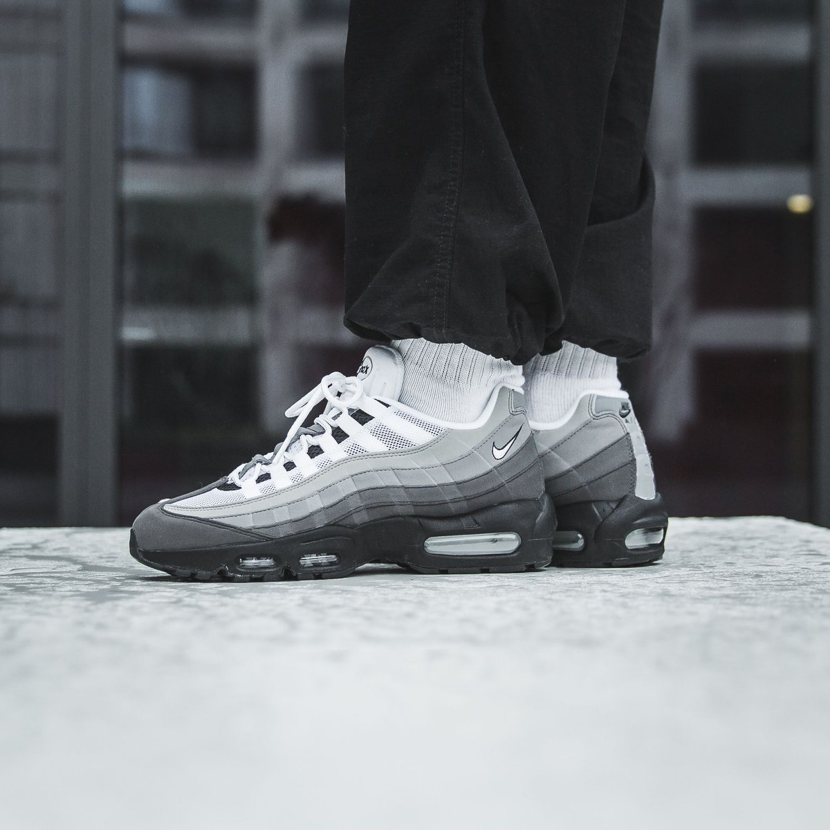 366151a1d sale 💥 Nike Air Max 95 Og - Black White-Granite-Dust to the webshop ...
