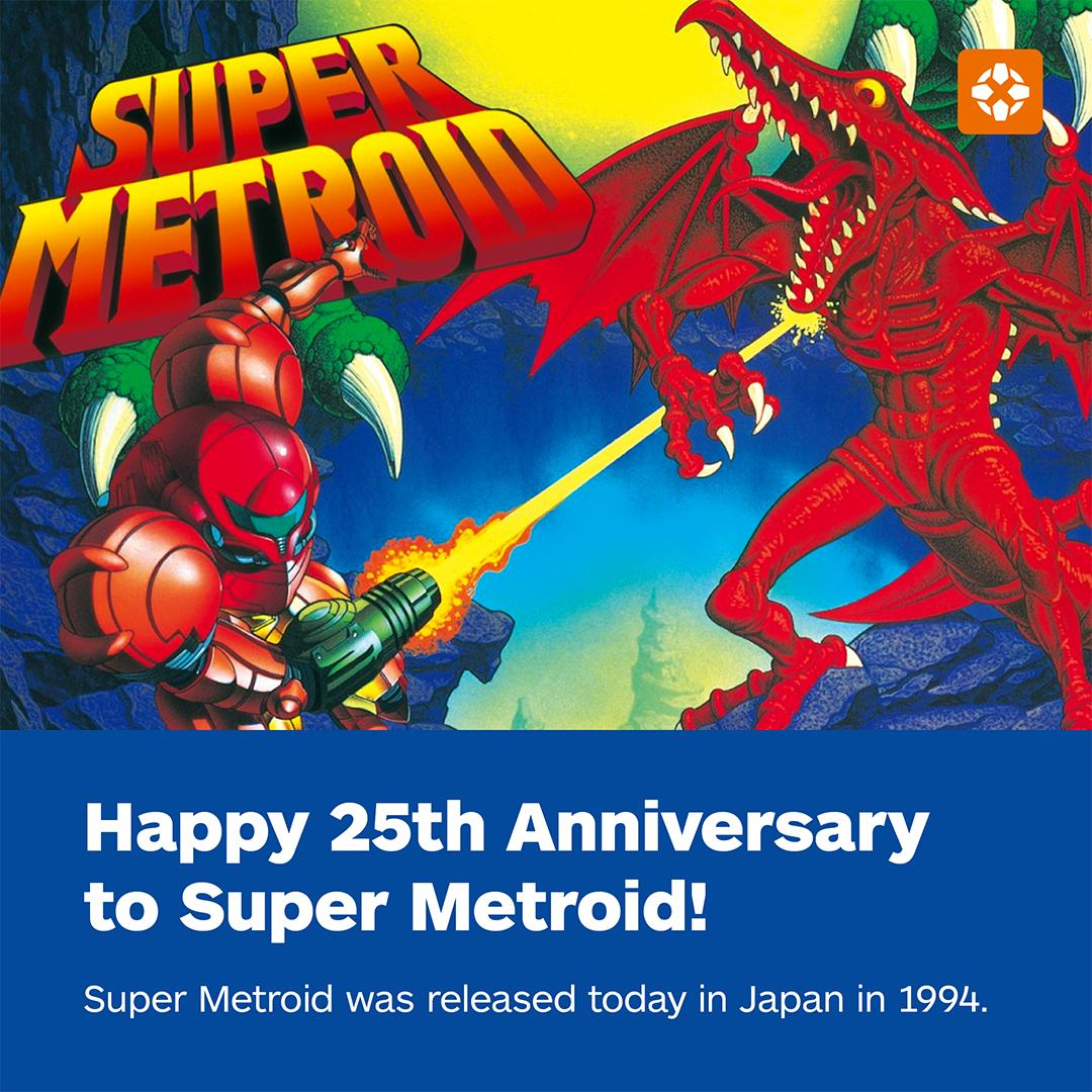 Where does Super Metroid rank on your list of favorite SNES games? �� https://t.co/S3RRmkvLXW