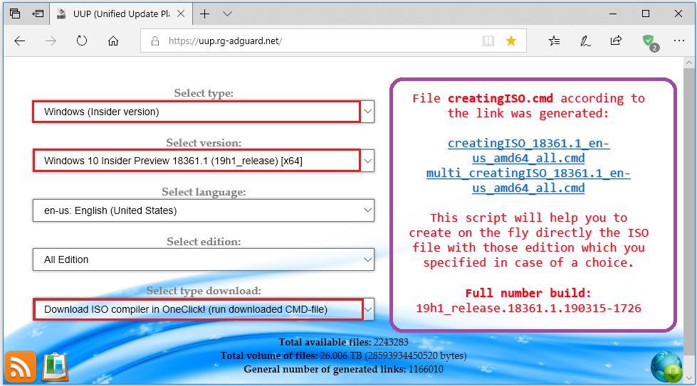 😹📢Hi, #WindowsInsiders, and #NinjaCat's!, compile your own ISO's