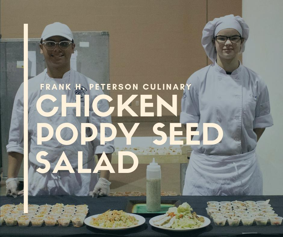 A new chicken poppy seed #salad will make its debut on elementary school menus TODAY! This new student-created salad was the winning recipe by @FHP_Culinary for the district's inaugural Student Food Show cooking competition.  #NationalNutritionMonth @DuvalSchools @eatright<br>http://pic.twitter.com/YwCqY3wNRK