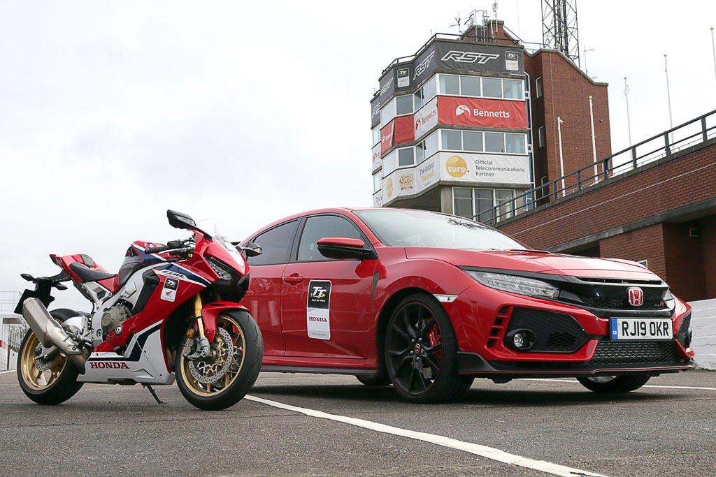 #Honda apoia a Isle of Man TT 2019 com Type R e #Fireblade.  https:// goo.gl/FLVb6C  &nbsp;   #CivicTypeR #TypeR #CBR1000RR <br>http://pic.twitter.com/VfcAvwfaH7