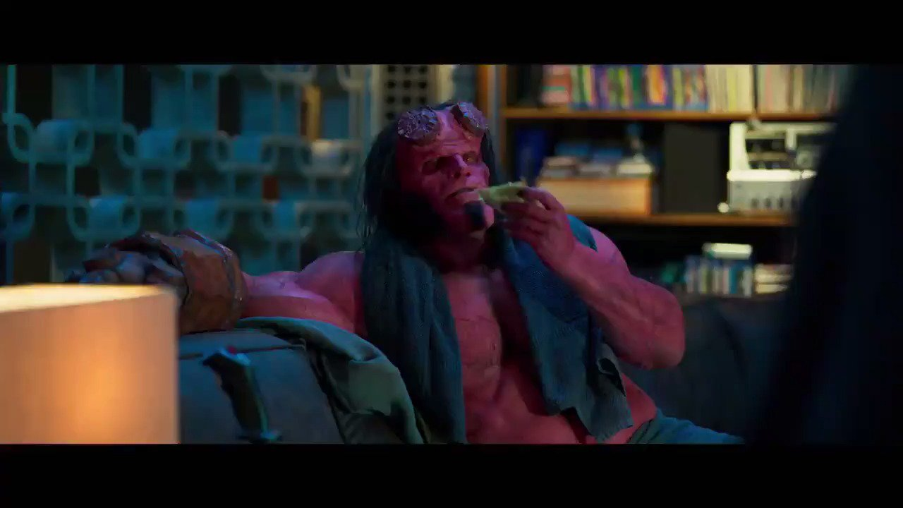 Hellboy gets recruited to fight giants in this first official clip from the reboot: https://t.co/PgkOr3xmyq