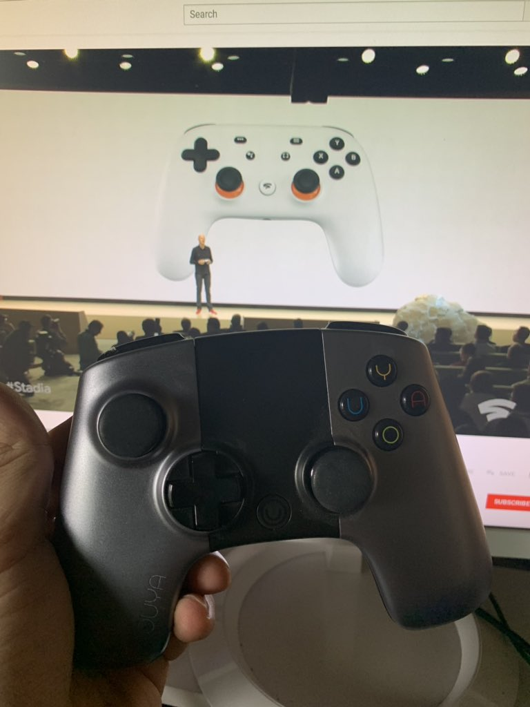 RT @CEOJebailey: Sweet I already have a #Stadia controller! https://t.co/bje3ODNId6
