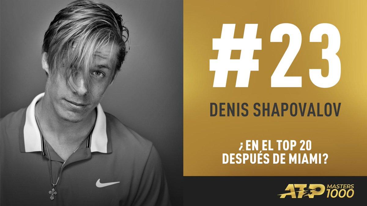 ¿Top  tras @MiamiOpen?  Esto debe hacer  @denis_shapo para irrumpir en esta zona del Ranking #ATP    http:// bit.ly/2OeBLg9  &nbsp;  <br>http://pic.twitter.com/ozeg4ATkgM