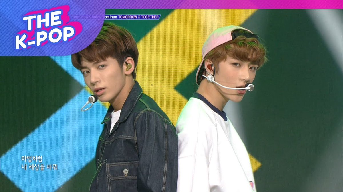 WATCH: #TXT Performs &quot;Crown&quot; On &quot;The Show&quot;  https://www. soompi.com/article/131141 0wpp/watch-mamamoo-takes-1st-win-for-gogobebe-on-the-show-performances-by-txt-park-bom-and-more &nbsp; … <br>http://pic.twitter.com/DeVUjYvWyc