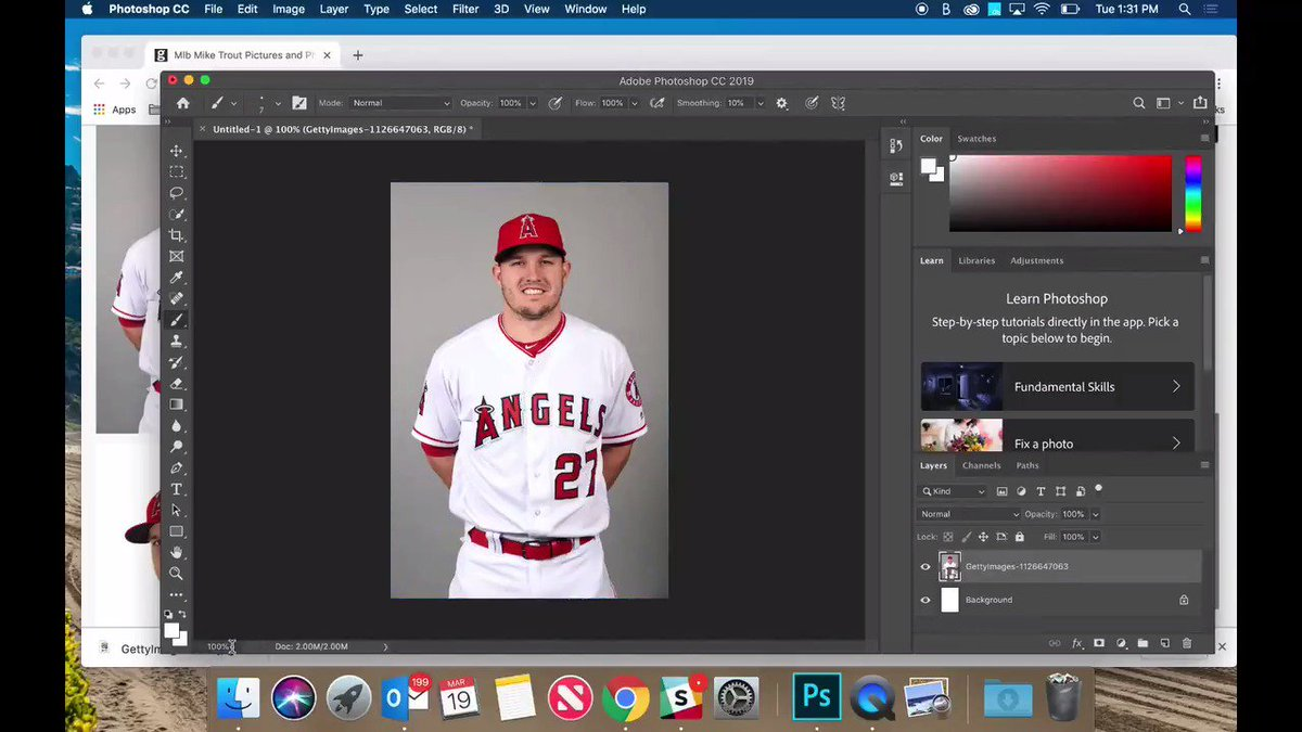 First look at Mike Trout as a *forever* Angel.  (per @JeffPassan)