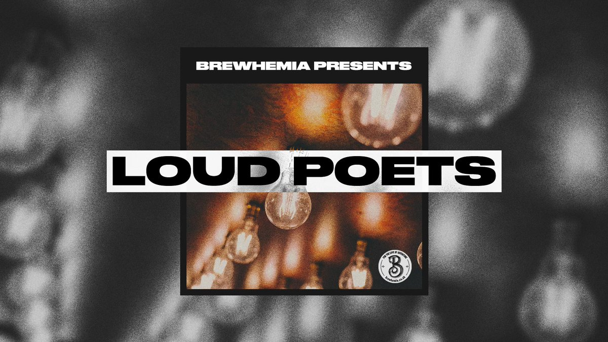 Tonight is our weekly open mic at @BrewhemiaEdin, ft the wonderful @robbieamacleod and music from @JackHinksMusic!  Still a few spots left - sign up on the door / email us at hello@iamloud.co   8pm, FREE + poets are offered a complimentary drink & 20% off the rest of the night.