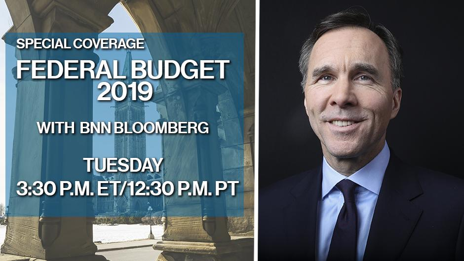 The Liberal government is set to deliver its fourth and final budget before the election. BNN Bloomberg will have special coverage with beginning at 3:30 p.m. ET/12:30 p.m. PT. Watch live and visit http://BNNBloomberg.ca  to stay up to date. #Budget2019