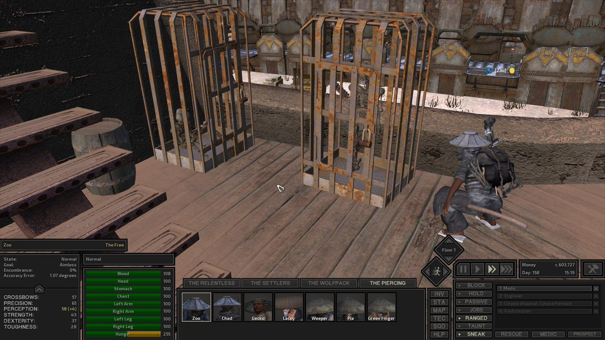 Kenshi Skeleton Repair Bed