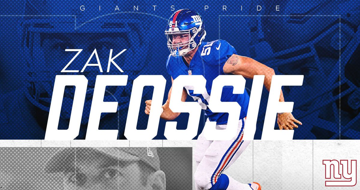 Official: The #NYGiants have resigned LS Zak DeOssie, WR Bennie Fowler and DB Tony Lippett.  Details   https:// bit.ly/2Fcqc58  &nbsp;  <br>http://pic.twitter.com/Pp1OhWq2y7