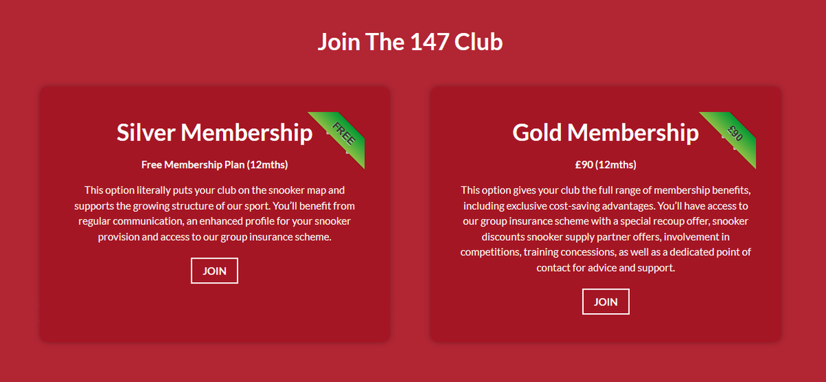 test Twitter Media - 🖊 JOIN THE 147 CLUB | Learn more about how your club can be a part of our exclusive affiliation scheme and take advantage of the fantastic benefits available 👉 https://t.co/6bzM2rFS0T  #Cue4All https://t.co/bBCmmgjsap