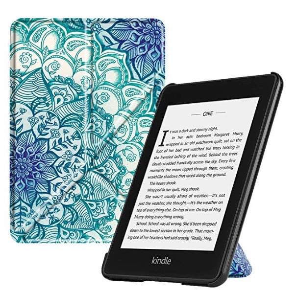 e9a36a46e9bc61 Come check out the Fintie Slim Fit Stand Origami Case for All-New Kindle  Paperwhite (10th Generation, 2018 Release.) http://tinyurl.com/y4zvqtra # Amazon ...