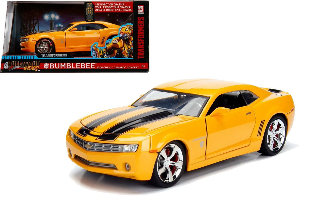 Get ready for the new @transformers @bumblebeemovie & take a look at these awesome @JadaClub camaros, available online now! #Transformers #BumblebeeMovie #camaro #Chevy pic.twitter.com/ECm2OnKLW8  by modelstore