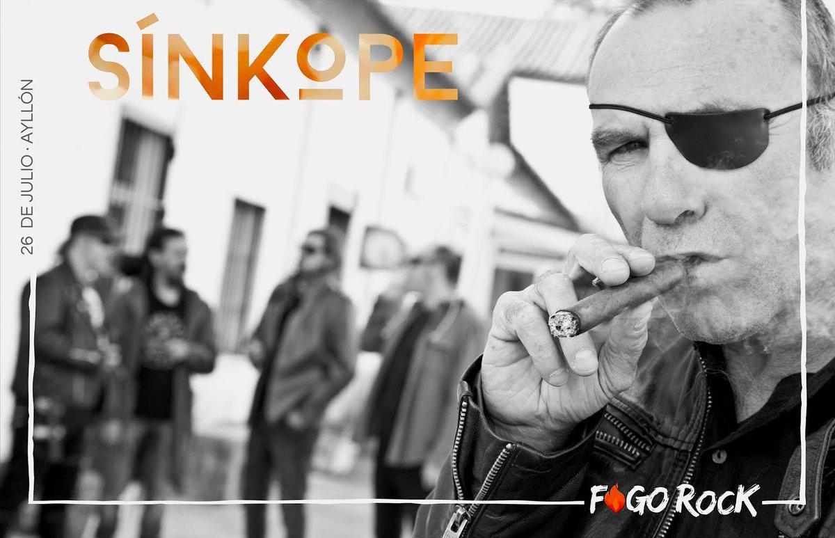 ¡Mojinos Escozios @Mojinosescozios , @CeltasCortos , The Best of Rock Tribute y Sínkope @sinkopegrupo en el Festival Fogo Rock en Ayllón el 26 de julio! #Segovia