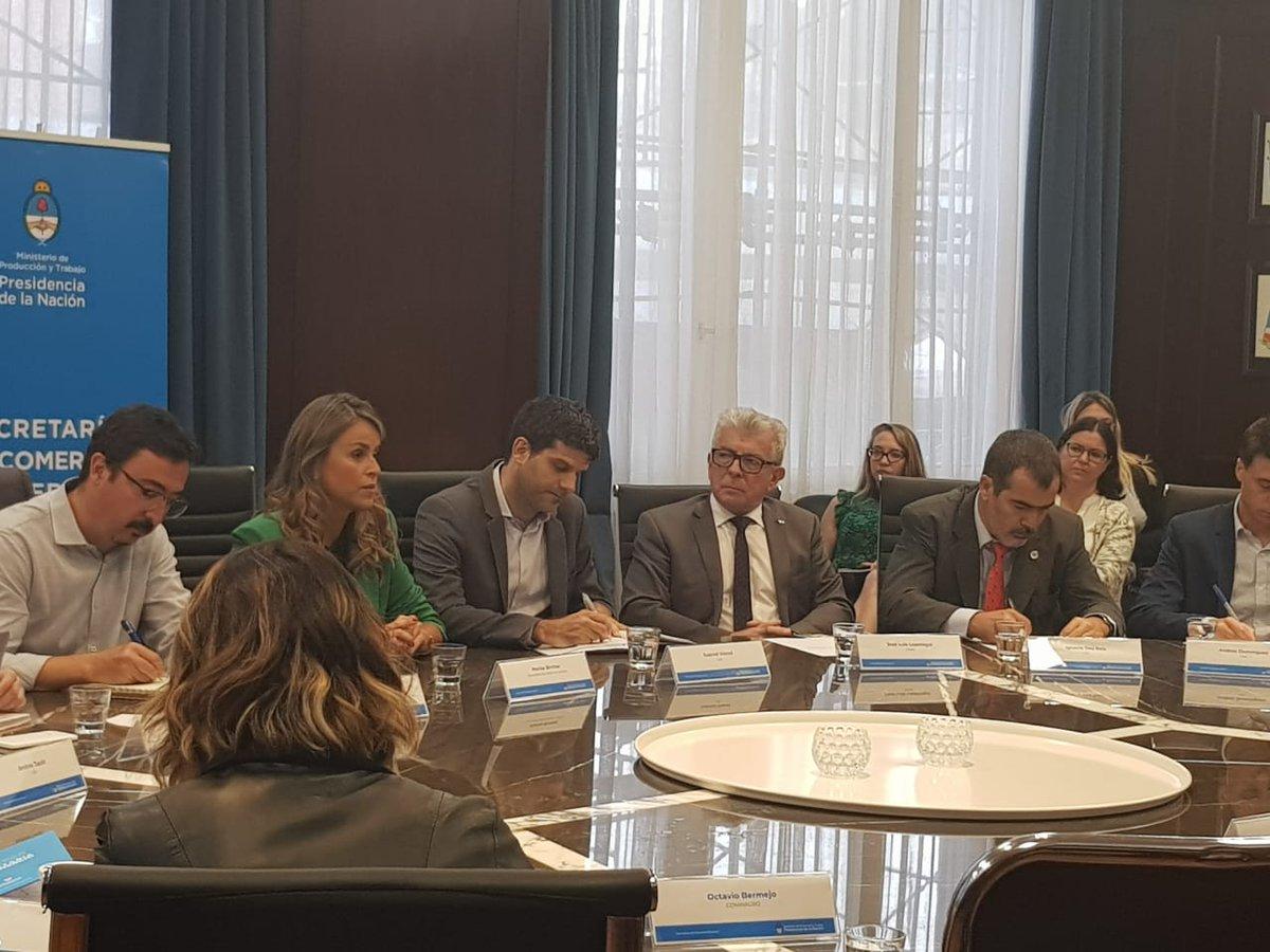 Came, a través de su Secretario de Comercio Exterior, Jose Luis Lopetegui participando en la explicación de la Secretaria de Comercio Exterior Lic. Marisa Bircher sobre los avances del programa Argentina Exporta.@camecomex @CDARepArg @CamaraPlanD @redcame