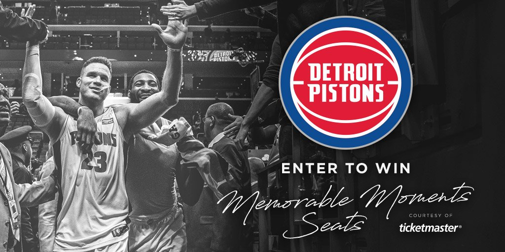 You still have time this regular season to be at a game with Legends Club seats courtesy of @Ticketmaster Memorable Moments!  Enter for a chance to win: http://bit.ly/MemorableMoments201819…