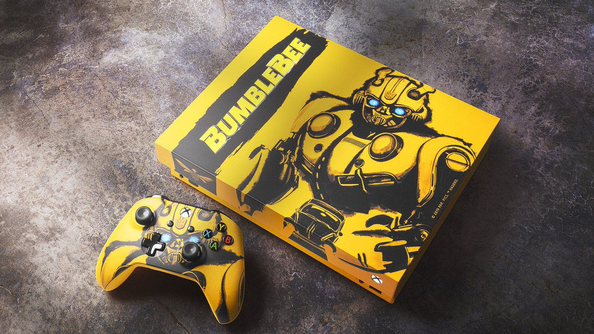 Xbox's photo on #BumblebeeSweepstakes