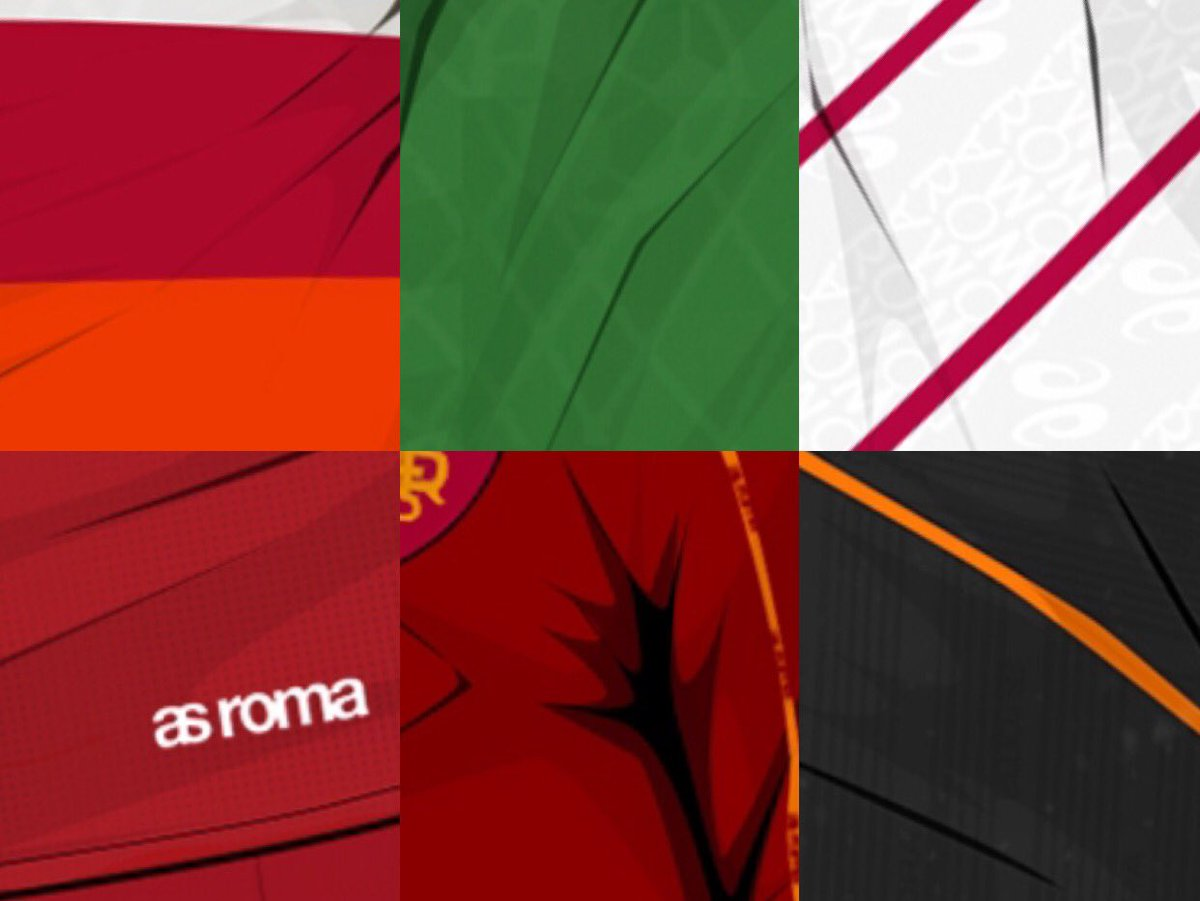 🖼 A new #RomaArt series begins today 🎨  🐺 @vinnot86 imagines current #ASRoma players wearing classic kits from the year they were born... [Thread]