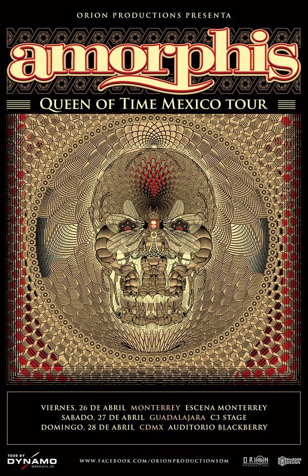 RT @MetalCorrosivo: #Amorphis en #Mexico #Monterrey #CDMX #Guadalajara #OrionProductions https://t.co/LNIBnMB9n7