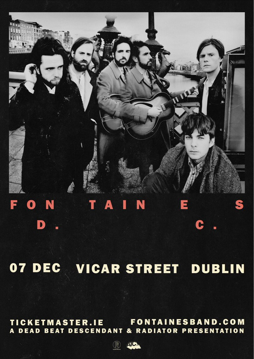 There is only 30 tickets left for our Dublin show in Vicar Street  Follow link below: https://www.ticketmaster.ie/venueartist/198259/5281142…