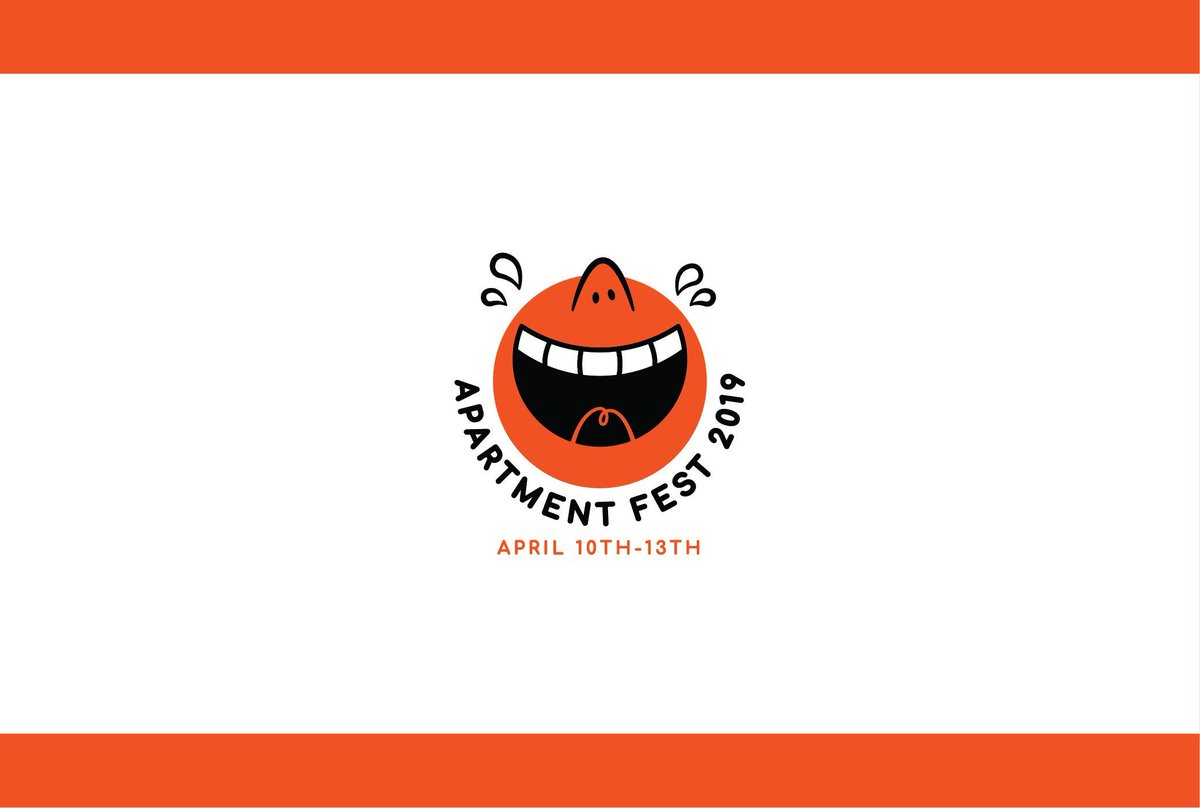 Today I announced that I'm running a comedy festival out of my living room! Apartment Fest is happening April 10th-13th! SUBMISSIONS ARE OPEN NOW! COMEDIANS, APPLY! (yes this is a real thing)  Details and submission link: https://goo.gl/forms/g624cULhHLk5OdZd2…