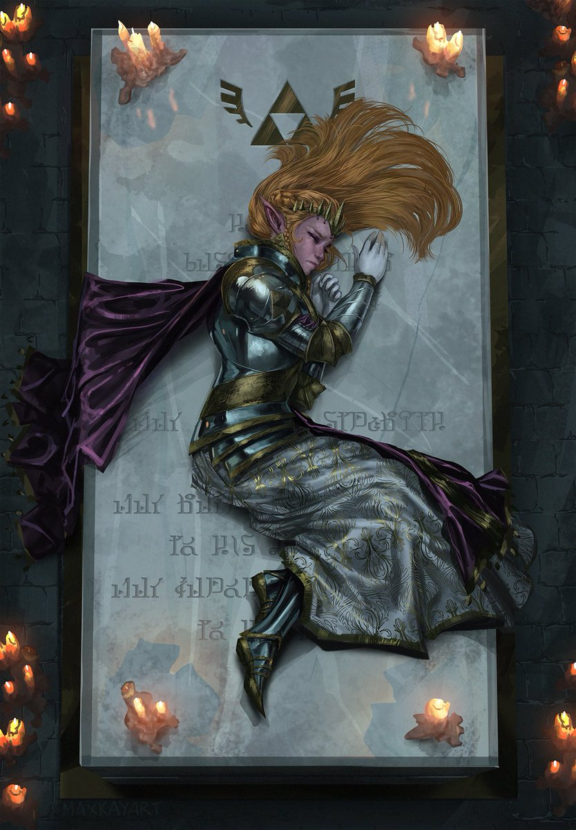 On the day of her coronation, Princess Zelda grieved alone in the dim light of the crypt - for her father, and for her final moments of solitude. --- #zelda <br>http://pic.twitter.com/JtSijB2GVe
