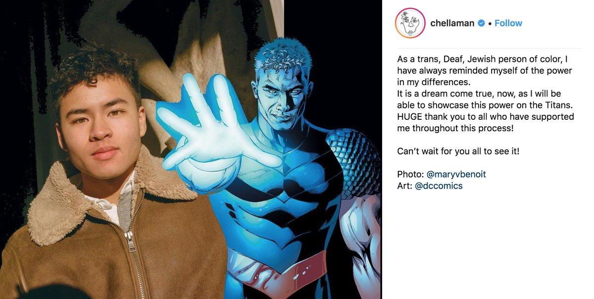Aj On Twitter Transgender Deaf Artist Chella Man Has Been