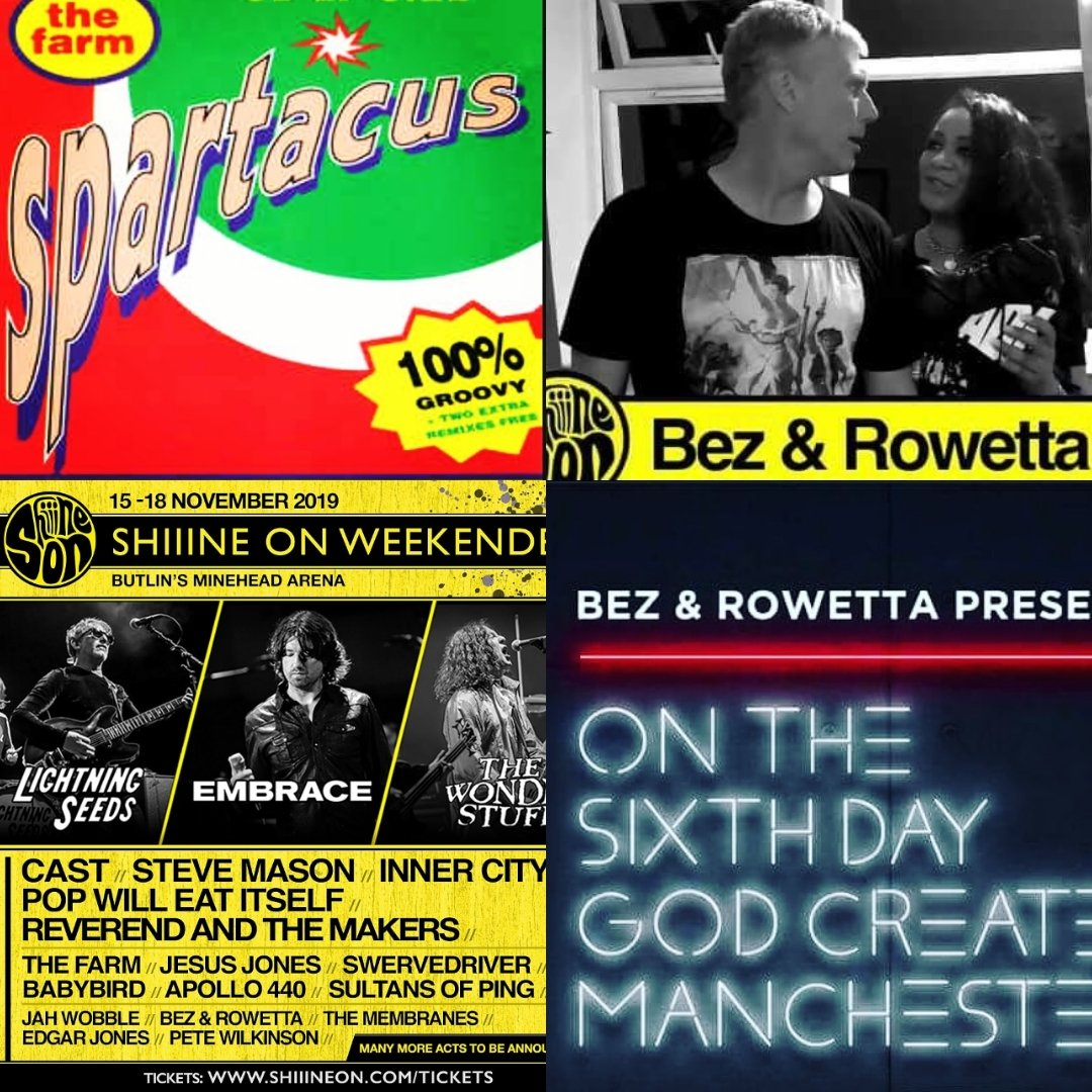 This is what you call a closing party !  Bez & Rowetta will be joining The Farm to close this year's Weekender in style 😎 This is going to go off big time ...Elland Road 91 vibes ! Packages >> http://www.shiiineon.com/tickets