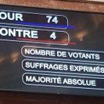 Image for the Tweet beginning: 🇫🇷🏛#DirectAN #PJLSanté 🏛🇫🇷 Nous avons voté