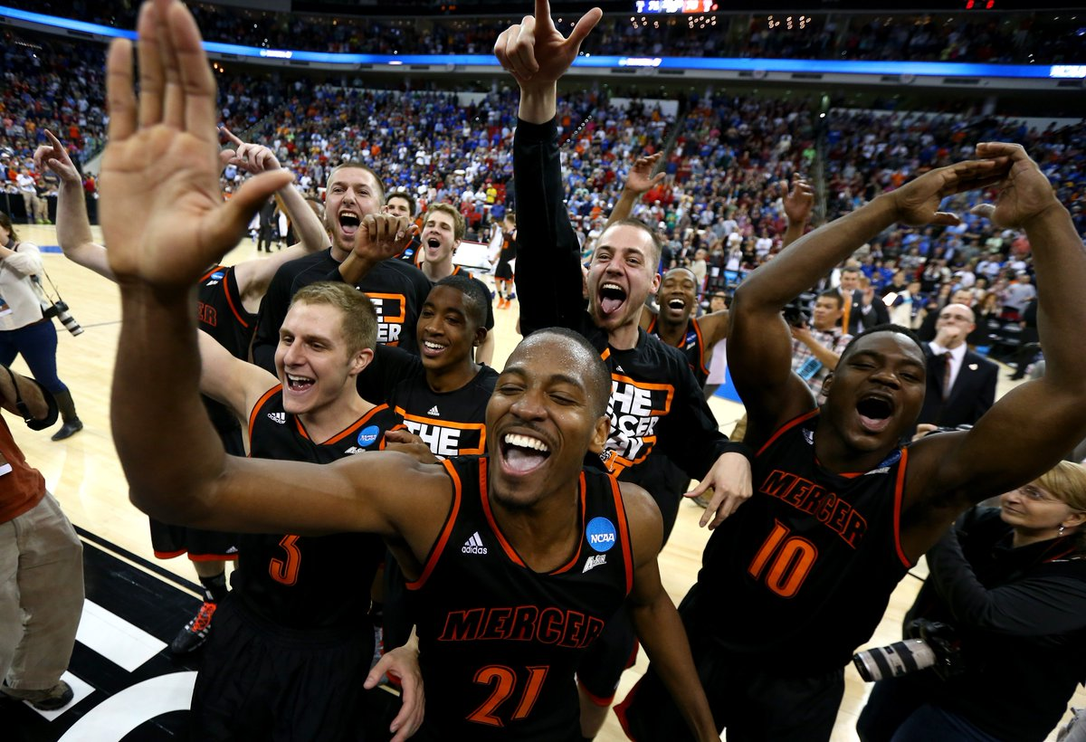 Remember that time @MercerMBB beat Duke to begin #MarchMadness  The glass slipper fit for Mad Ants guard @ike_nwamu that day! #MadAboutBlue