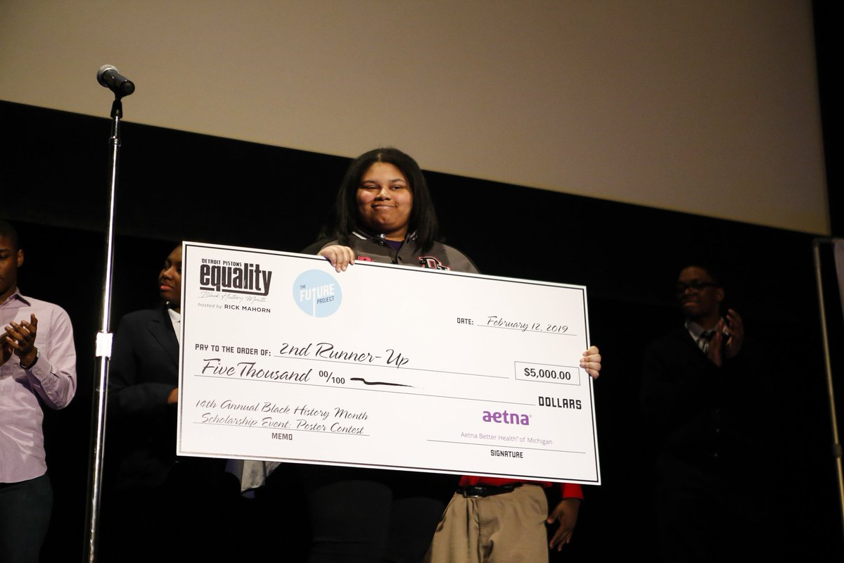 Thank you to @Aetna Better Health of Michigan COO Teressa Smith for serving on our panel yesterday and thanks to Aetna Better Health of Michigan for supporting the community at our #BlackHistoryMonth Scholarship event!