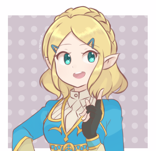 Shorter hairstyle for Breath of the Wild Princess Zelda! <br>http://pic.twitter.com/MDIaqa9mqy