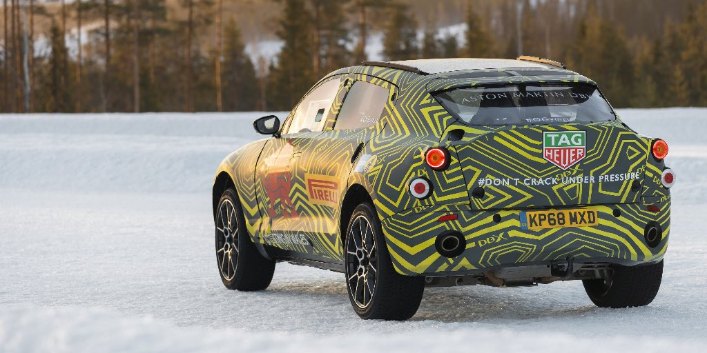 The Aston Martin DBX will…