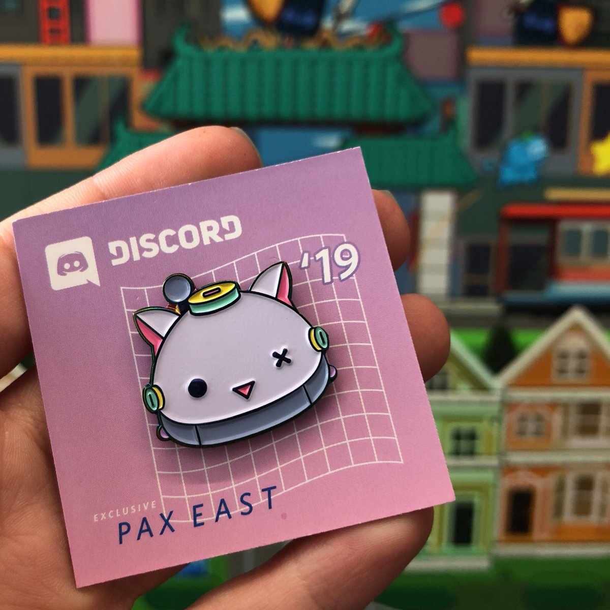 Wumpus's friend Nelly is making her first ever merch appearance at PAX. please be kind and show her some love.
