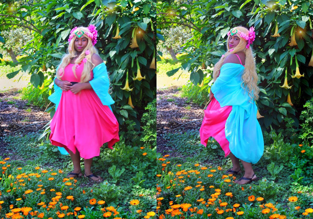 &quot;Welcome to Plumeria...&quot; .  Here is my first set of photos from my Perfuma cosplay! Thanks to my mom who helped me with my outfit &amp; took my photos !  #cosplay #Perfuma #Shera #SheraandthePrincessesofPower @DreamWorksSheRa<br>http://pic.twitter.com/kjLOPgTPfj