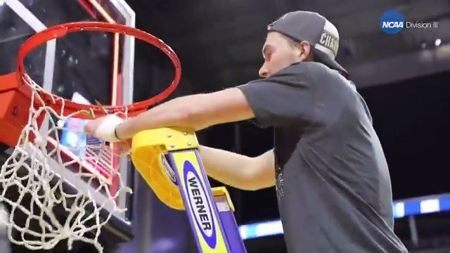 Alex Van Dyke was told he might never play basketball again after being diagnosed with acute lymphoblastic leukemia in 2010.  The @UWOMBB senior is now a national champion.