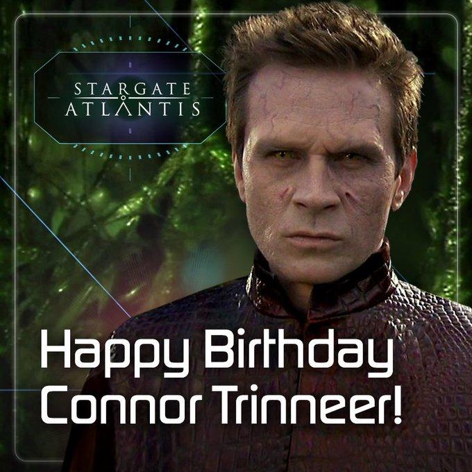 Happy Birthday, Connor Trinneer, who played the Human-Wraith hybrid Michael Kenmore (Lastlight)!
