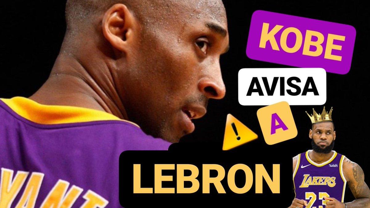 NUEVO VÍDEO | Kobe avisa a LeBron y habla de TODO #LakeShow #NBA  📺 https://youtu.be/cJvSsqyt3jI