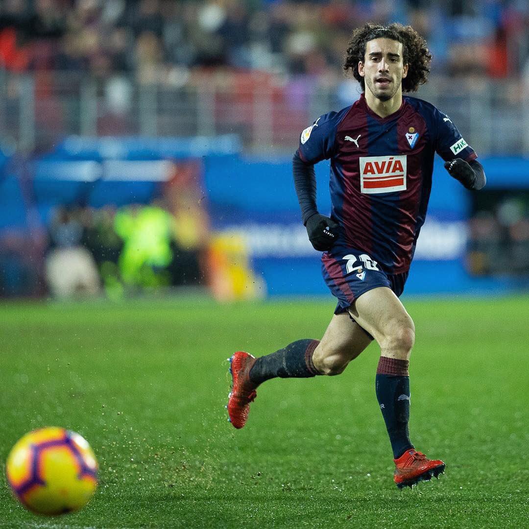 ⚠️ Contado en @sport:   Marc Cucurella estará en la convocatoria de Gerard López para el amistoso de Catalunya ante Venezuela. Del Eibar también va Joan Jordán #FCBMasia