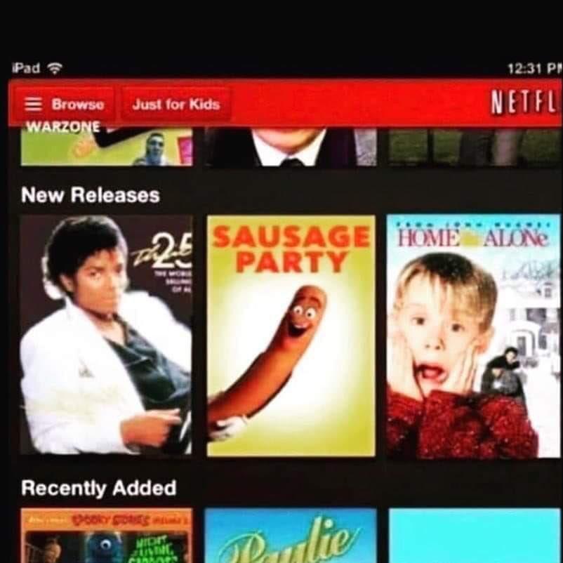 Jajajaja caprichos de Netflix.