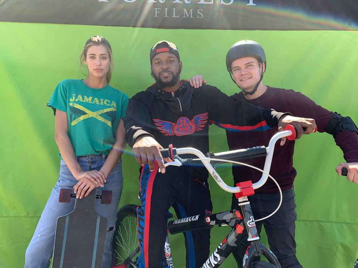 test Twitter Media - THAT'S A WRAP! What a great day shooting pickup shots for #RideMovie 🚲🎬 Huge thanks to our actors and all of the #BikeLife and #BMX riders who came out to share your talents 😎❤️😎❤️ #ForrestFilms #rrdblocks https://t.co/zQRodwdRav