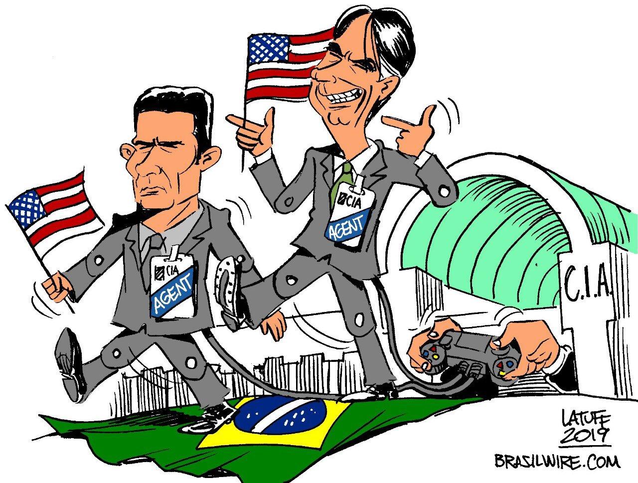 Bolsonaro, Moro e la CIA