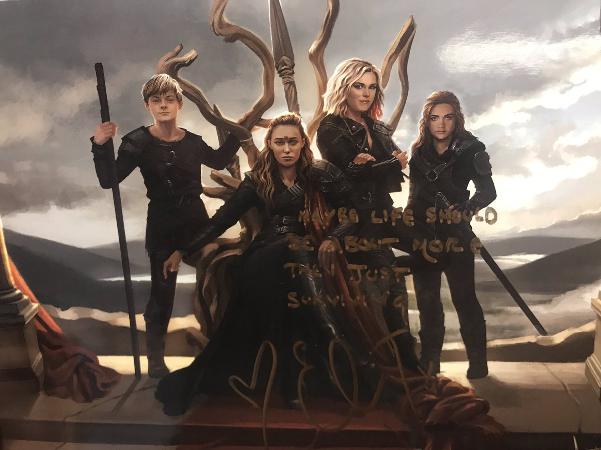 Amazing print by @PapurrCat signed by @MisElizaJane at #Conageddon2 over the weekend!!  <br>http://pic.twitter.com/DoUFRBU0VI