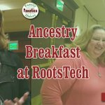 Image for the Tweet beginning: Ancestry Breakfast at RootsTech 2019